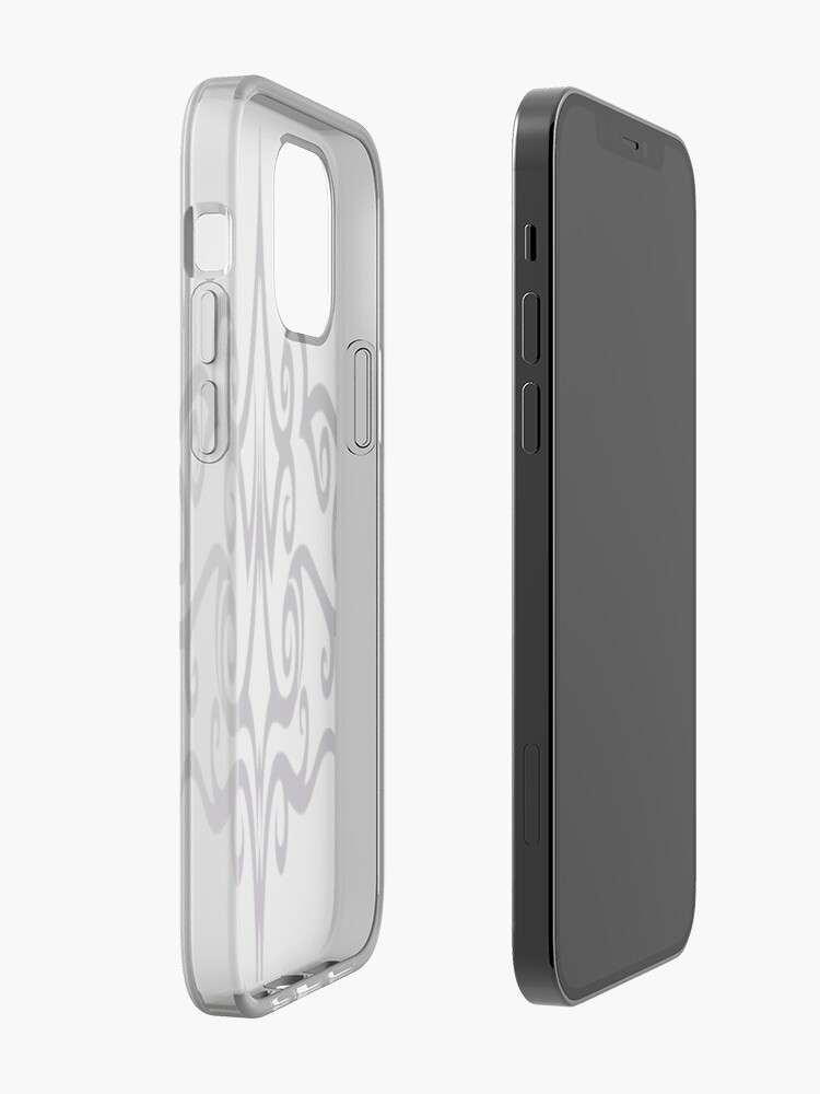 Alternate view of #Decoration, #design, #spiral, #pattern, ornate, illustration, element, curve, silhouette, shape, antique, art, abstract iPhone Case