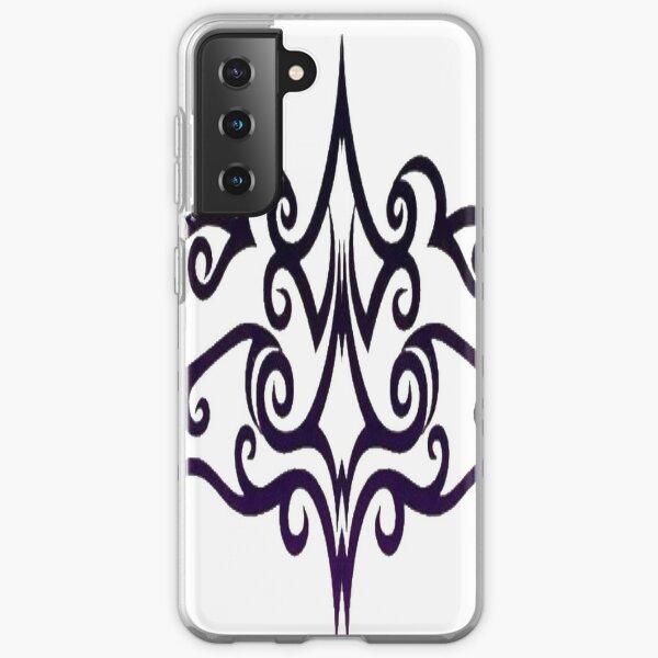 #Decoration, #design, #spiral, #pattern, ornate, illustration, element, curve, silhouette, shape, antique, art, abstract Samsung Galaxy Soft Case