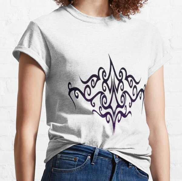 #Decoration, #design, #spiral, #pattern, ornate, illustration, element, curve, silhouette, shape, antique, art, abstract Classic T-Shirt