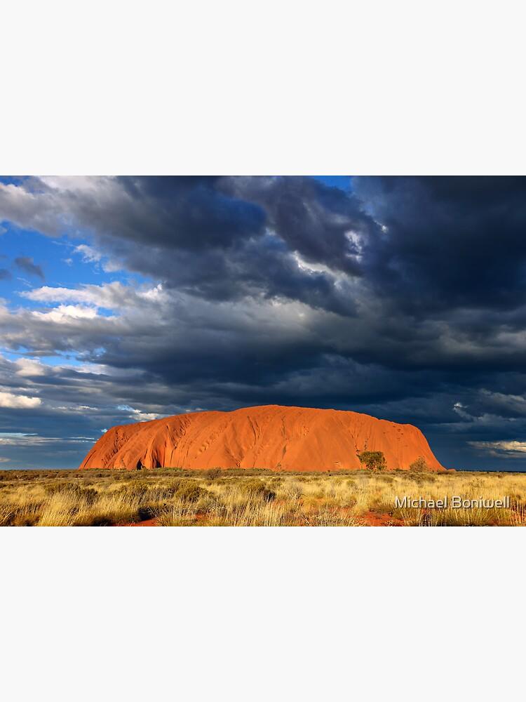 Ayers Rock (Uluru) Sunset, Australia by Chockstone