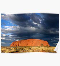 Ayers Rock (Uluru) Sunset, Australia Poster