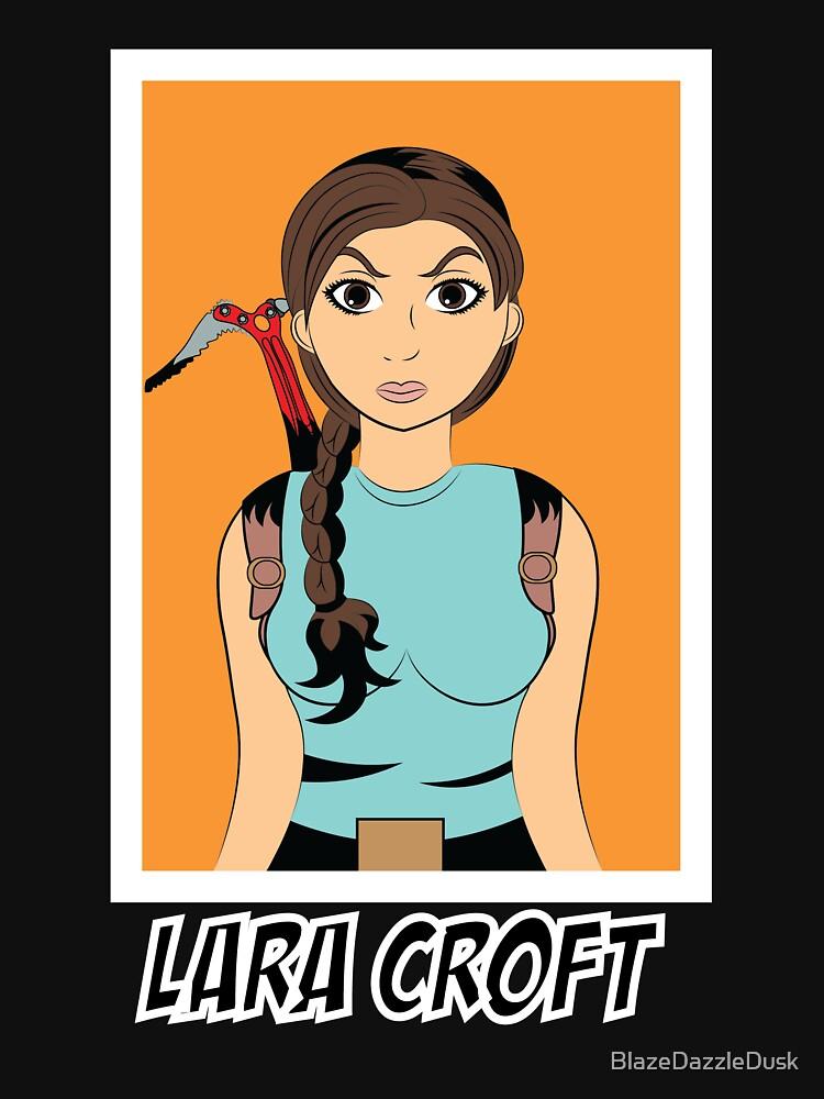 Lara Croft Tomb Raider by BlazeDazzleDusk