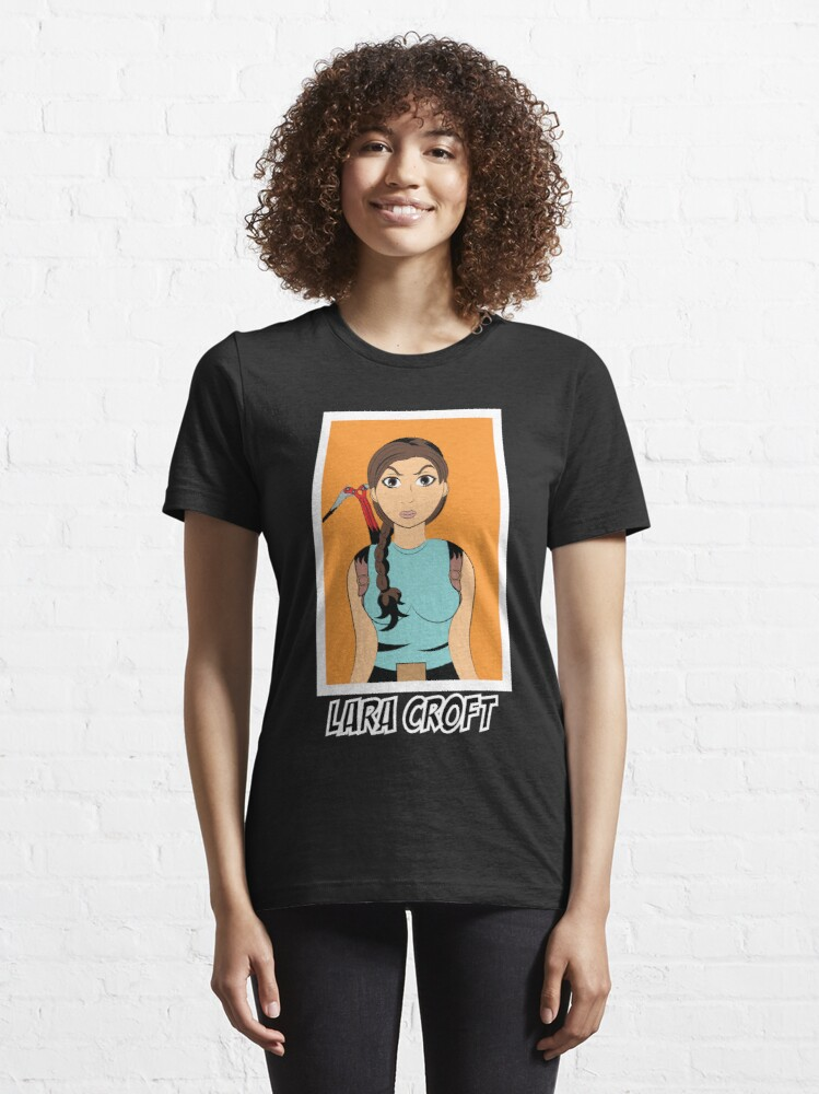 Alternate view of Lara Croft Tomb Raider Essential T-Shirt