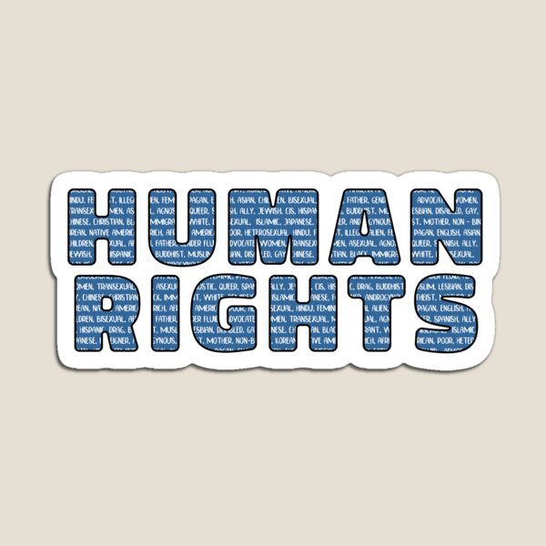 Human Rights For All Magnet