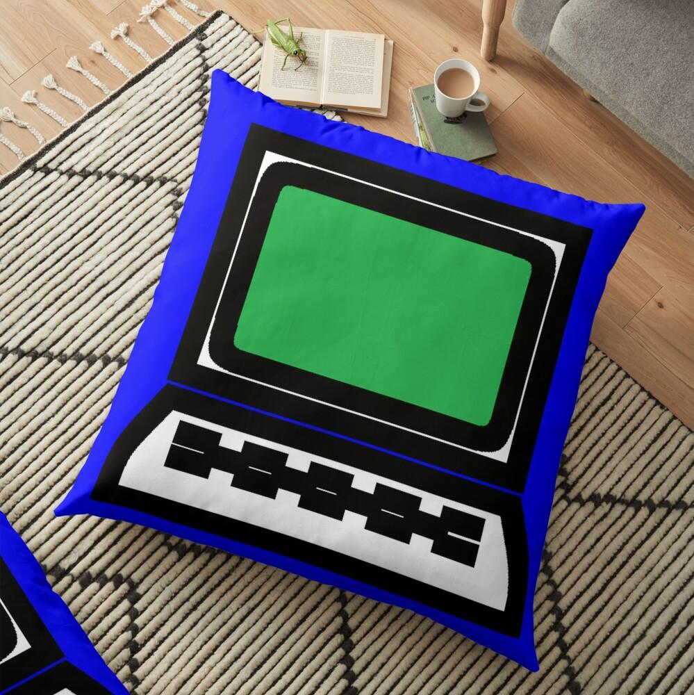 Computer  Floor Pillow