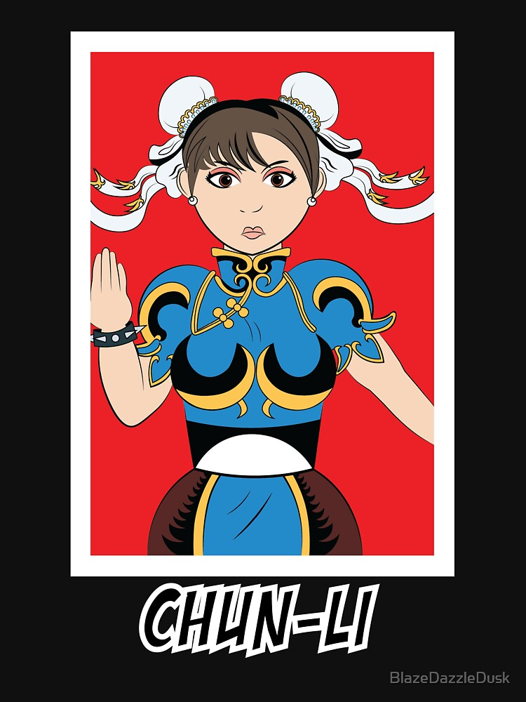 Chun-Li Street Fighter 2 by BlazeDazzleDusk