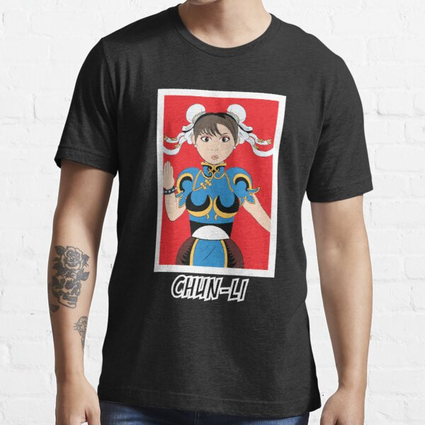 Chun-Li Street Fighter 2 Essential T-Shirt