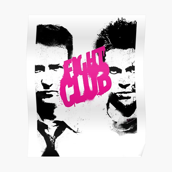 FIGHT CLUB (1999) | ink poster Poster