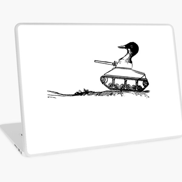 Duck Tank Laptop Skin