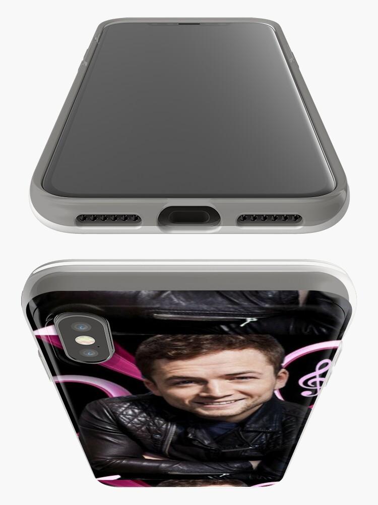 Alternate view of Taron Egerton iPhone Case & Cover
