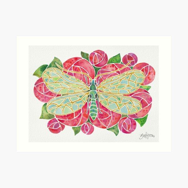 Chrysopa Leach Art Print