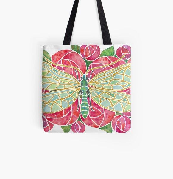 Chrysopa Leach All Over Print Tote Bag