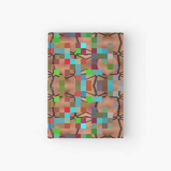 #illustration, #visuals, #sketch, #retrostyle, square  Hardcover Journal