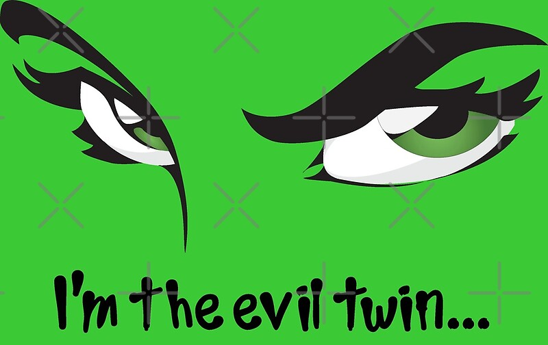 a90b7df0cd I'm The Evil Twin Funny Twins Sister Brother Sibling Quote by CreativeTwins
