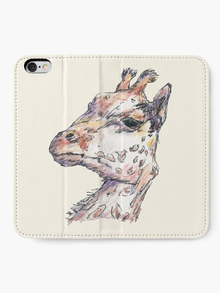 Alternate view of Giraffe iPhone Wallet