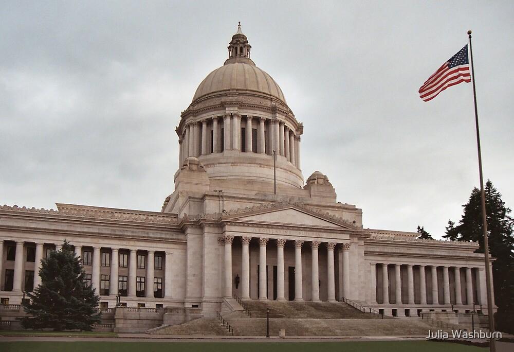 Olympia Capitol, WA by Julia Washburn