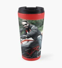 Ducati Rave (Keanu Reeves Bikes) by ACCI Travel Mug
