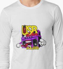 USB sLAve Radio Long Sleeve T-Shirt