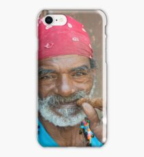 Cigar man  iPhone Case/Skin