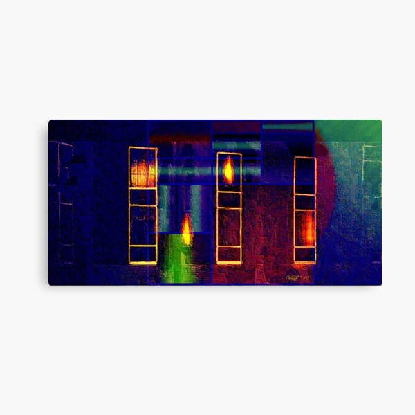 Forever windows and one soul at the crack of dawn Canvas Print