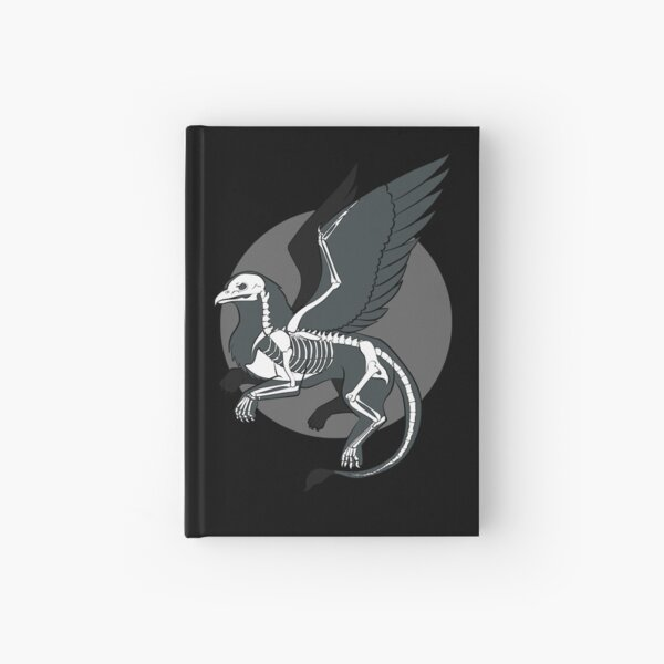 The Skeleton of a Griffin Hardcover Journal