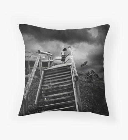 storm child Throw Pillow