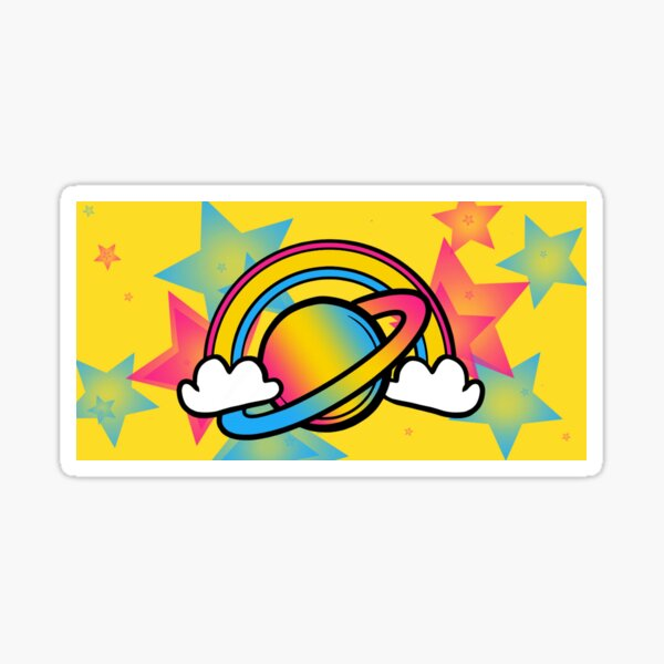 Space Queers: Pan Sticker