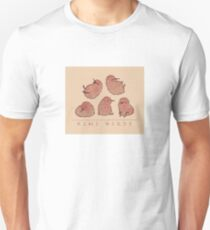 Cute Kiwi Birds 2 Slim Fit T-Shirt