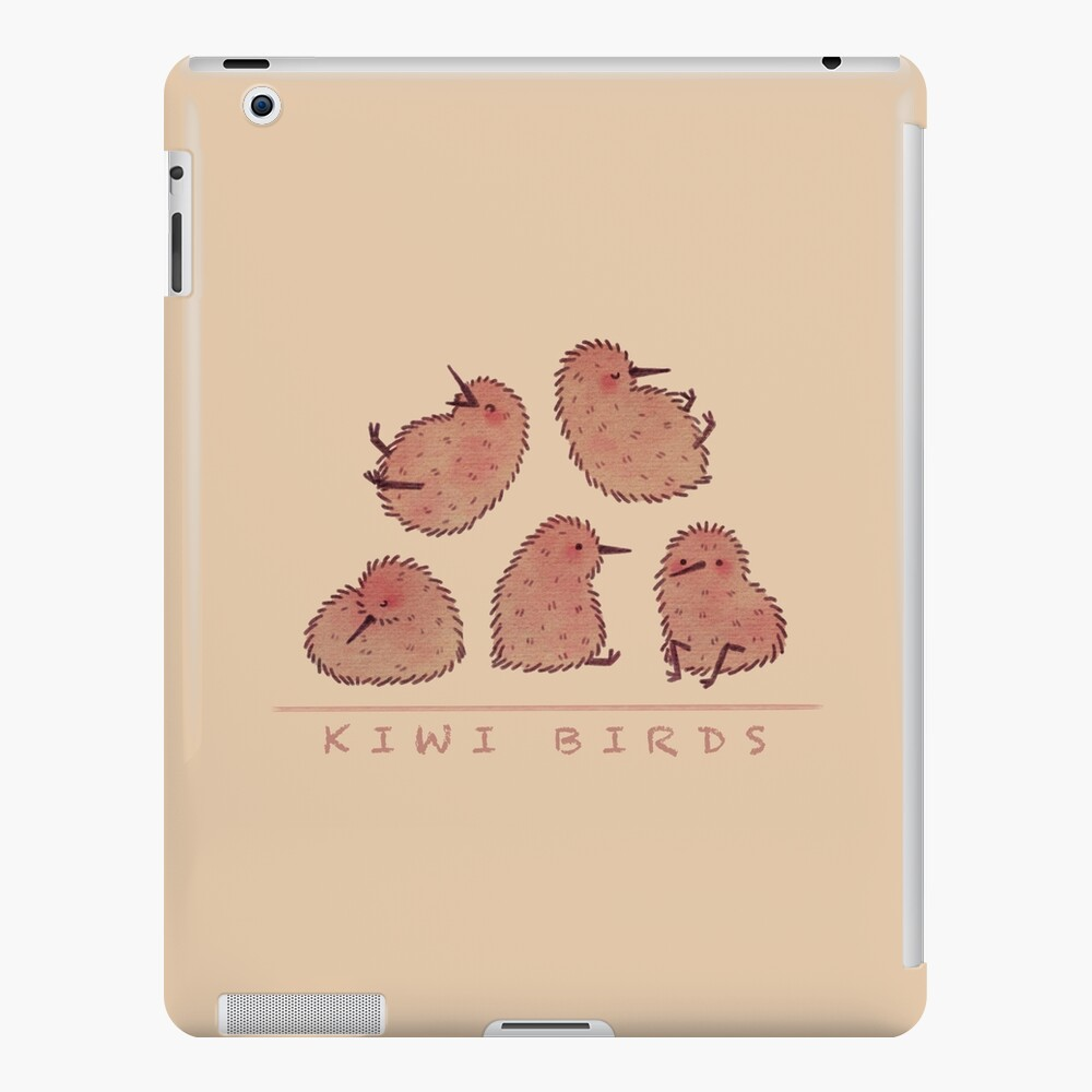 Cute Kiwi Birds 2 iPad Case & Skin