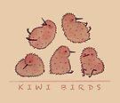 Cute Kiwi Birds 2 by Bumcchi