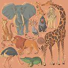 African Animals by Rainah Quinn