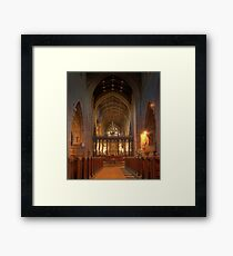 Newcastle Cathedral (HDR using Photomatix) Framed Print