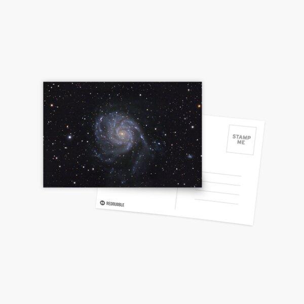 """Spiral galaxy (M101 """"Pinwheel"""") Postcard"""