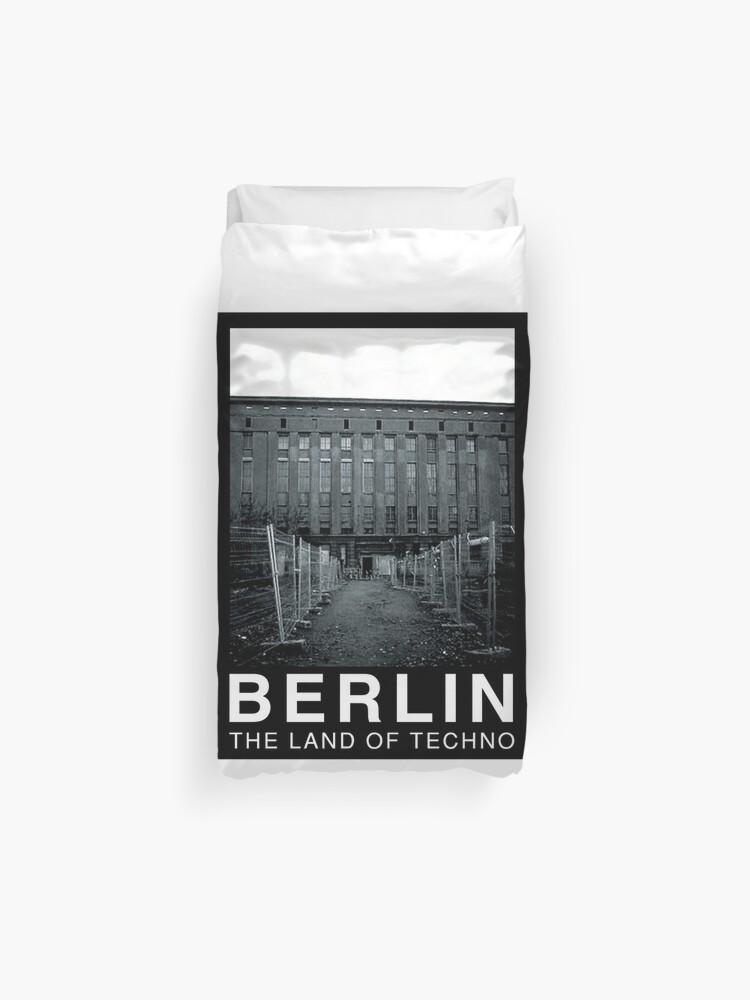 Berlin - The Land of Techno - Berghain | Duvet Cover