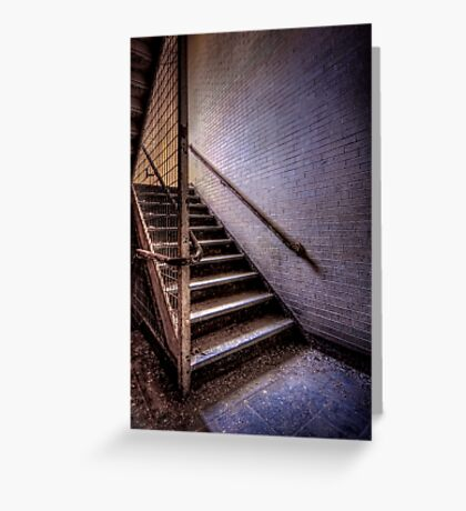 Enter The Darkness Greeting Card