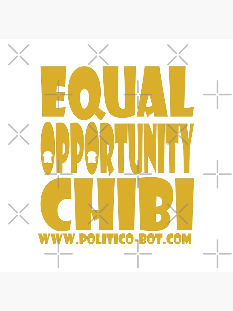 POLITICO'BOT: Equal Opportunity Chibi by carbonfibreme