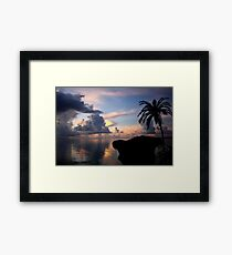 Another Night In Paradise Framed Print