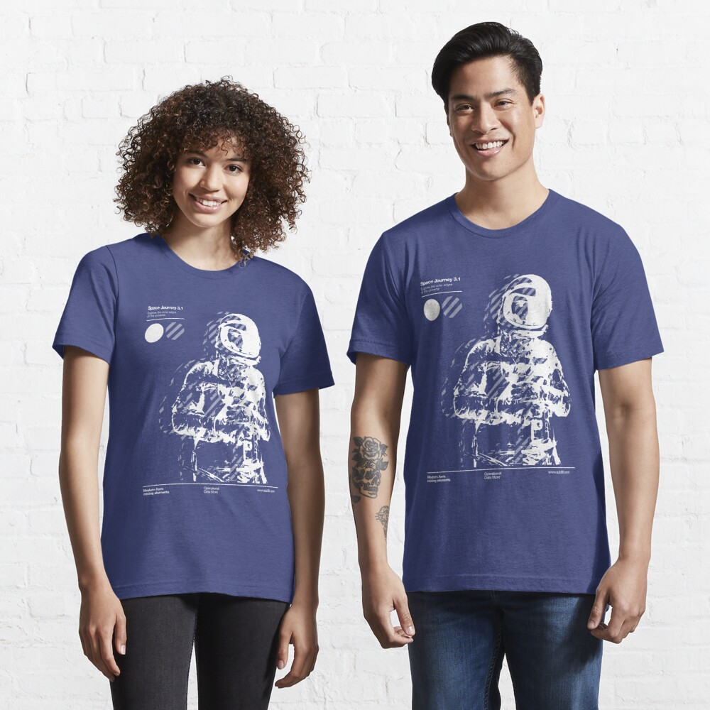 Space Journey 3.1 Essential T-Shirt