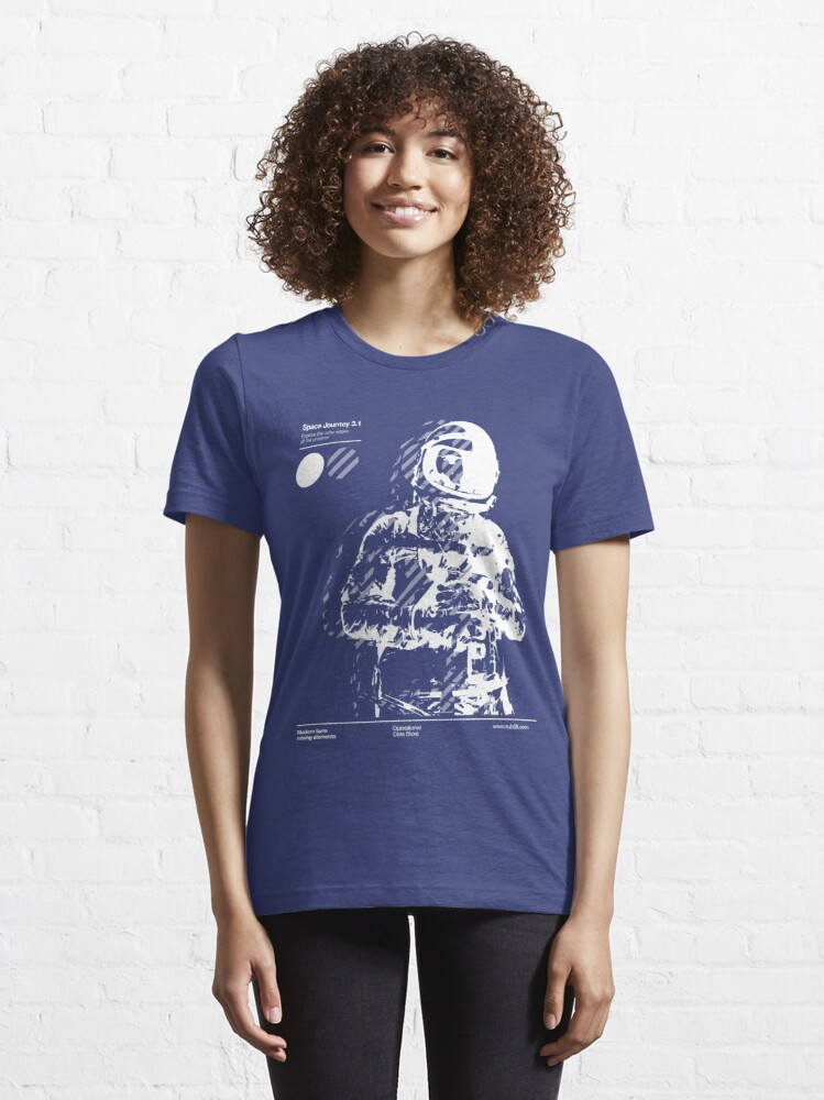 Alternate view of Space Journey 3.1 Essential T-Shirt