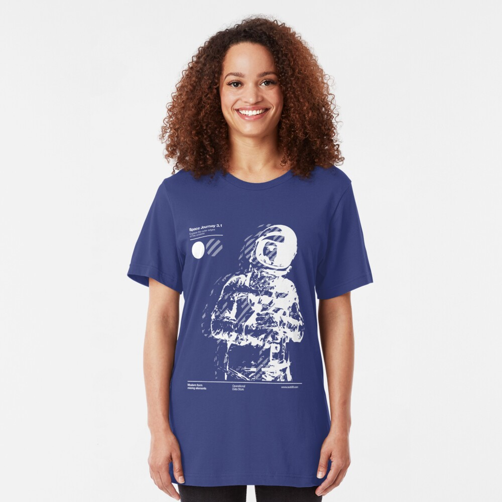 Space Journey 3.1 Slim Fit T-Shirt