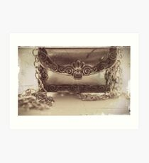 Chain mail Art Print