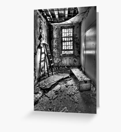 Hammer To Fall Greeting Card
