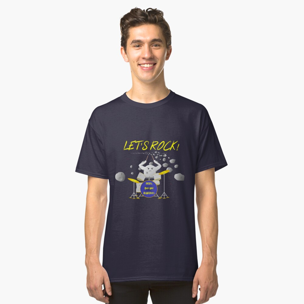 Let's rock with Ceres and the asteroids Classic T-Shirt