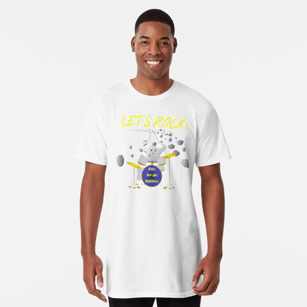 Let's rock with Ceres and the asteroids Long T-Shirt