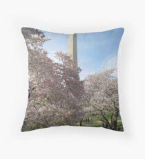 Cherry Blossom Festival, I Throw Pillow