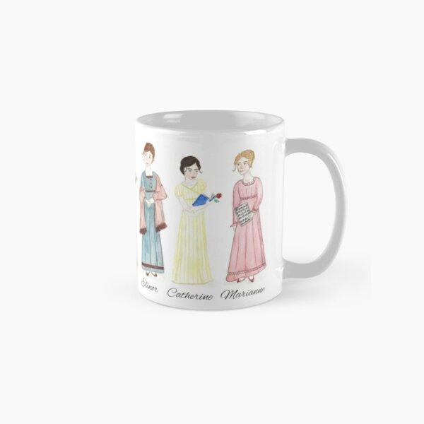 Jane Austen Heroines  Classic Mug