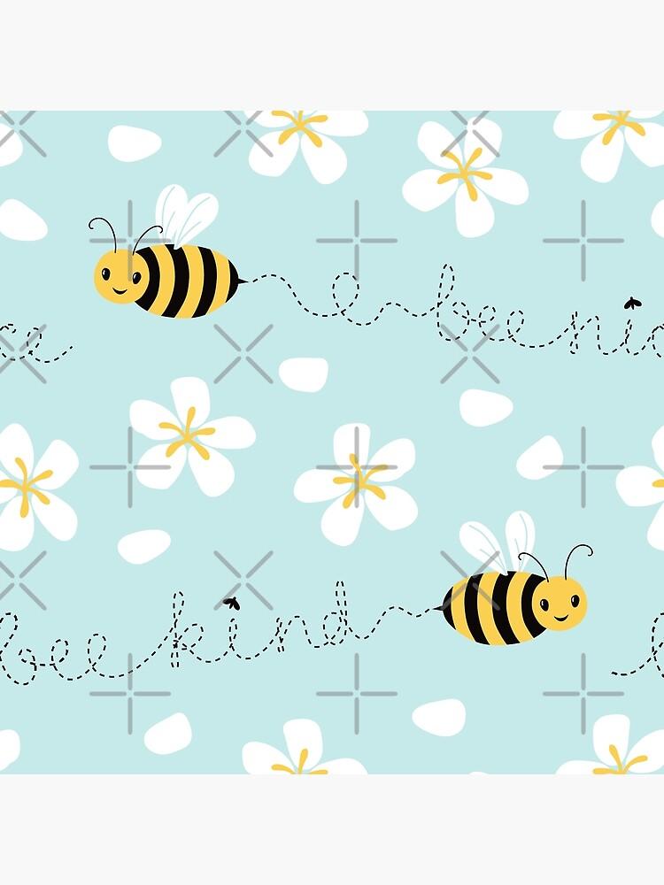 Bee nice, Bee kind (with sticker) by nadyanadya