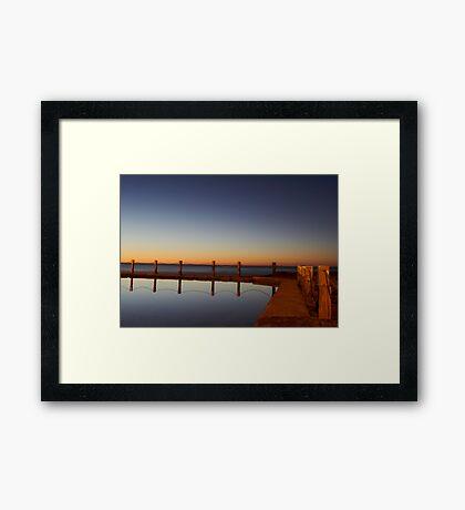 Mahon Pool Reflection Framed Print
