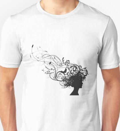 girl face design T-Shirt