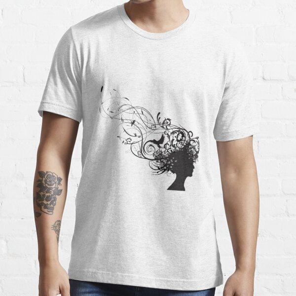 girl face design Essential T-Shirt
